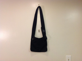 Nine West Black Shoulder Bag Fabric Mash Polyester