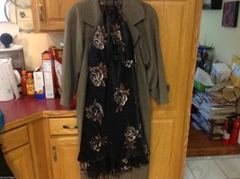 Nine West dress New with tags black with floral