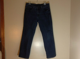 Nine West blue jeans size 12 front pockets with buttoned back pockets