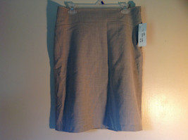 Ninety Size 8 Gray Skirt Zipper Closure on Side New with Tag Attached image 1