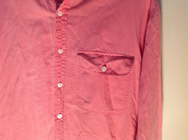 Light Pink Long Sleeve Casual Button Up Shirt Front Pocket on Chest GAP Size S image 2