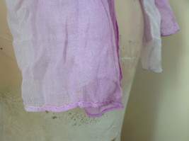 Light Purple Watercolor Scarf Length 65 Inches Width 24 Inches image 5