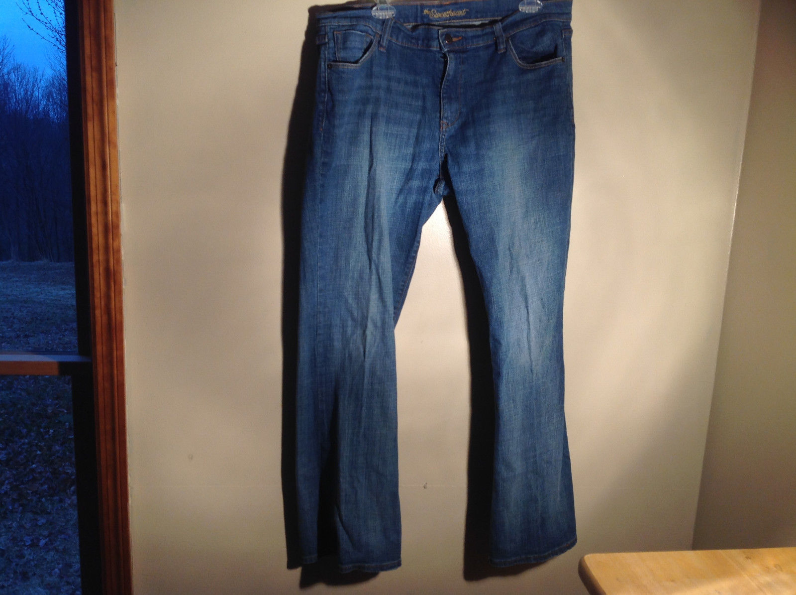 Old Navy Sweetheart Blue Denim Jeans Size 14