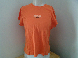 Old Navy Orange Pumpkin Halloween Short Sleeve T-Shirt Size XXL
