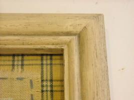 New primitive embroidered framed stitchery Good Morning Sunshine image 5
