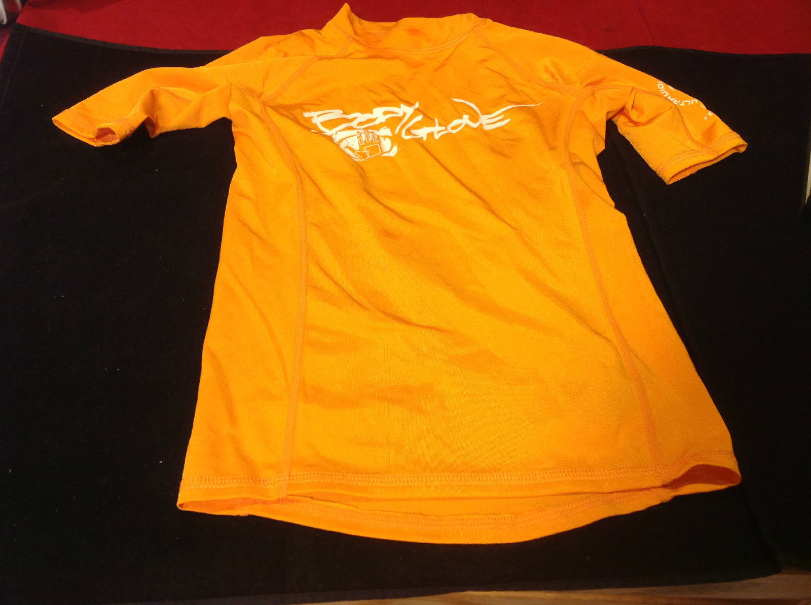 Orange Short Sleeve Body Glove Sport Shirt