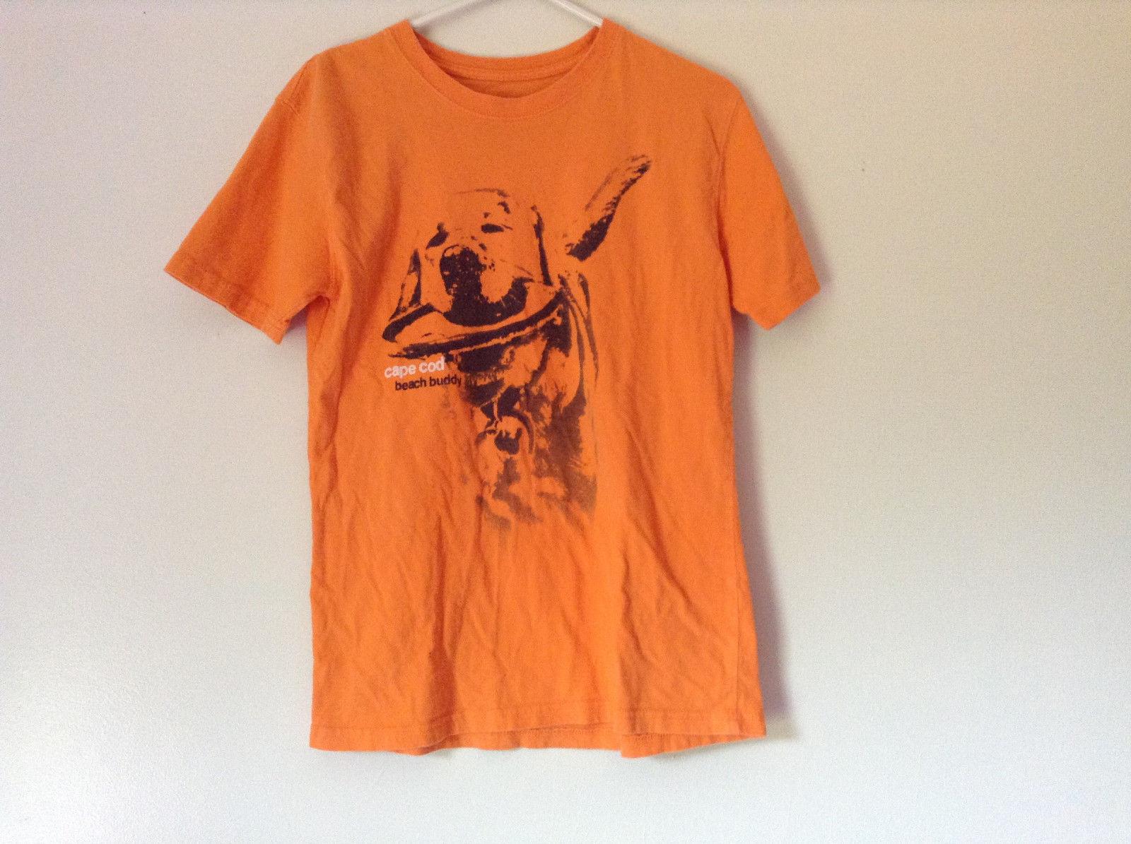 Orange Cuffys of Cape Code Beach Buddy T Shirt Size XL 18 to 20