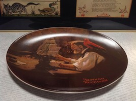 Norman Rockwell Ship Builder Collectors Plate Fine American China Limited Editio image 2