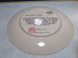 Norman Rockwell Ship Builder Collectors Plate Fine American China Limited Editio image 3
