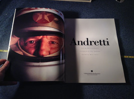 Andretti Racecar Driver and Record Breaker Book Photos 120 Pages Good Condition image 2