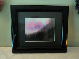 Original Water Color Painting of Hudson Valley tree line by Vivian Gaines Tanner