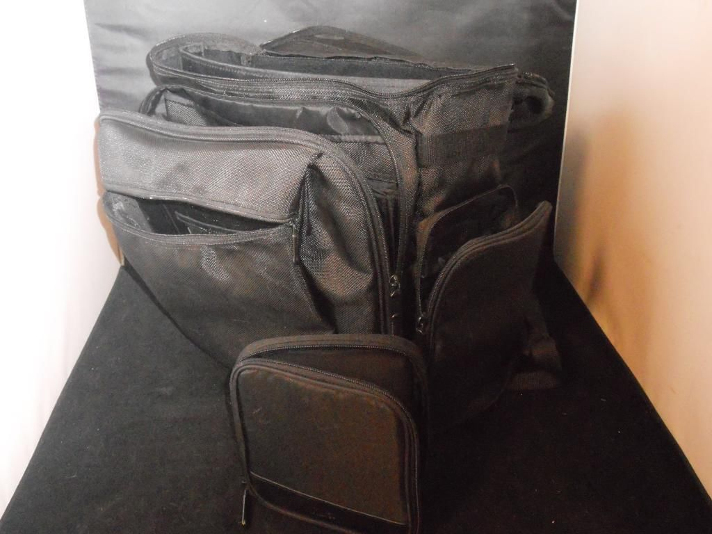 Padded Heavy Duty Backpack SafePort Protection System