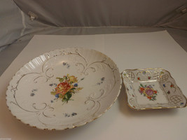 Pair of Vintage Dishes - Semi Vitreous Opaque China and Bavaria Schumann Germany