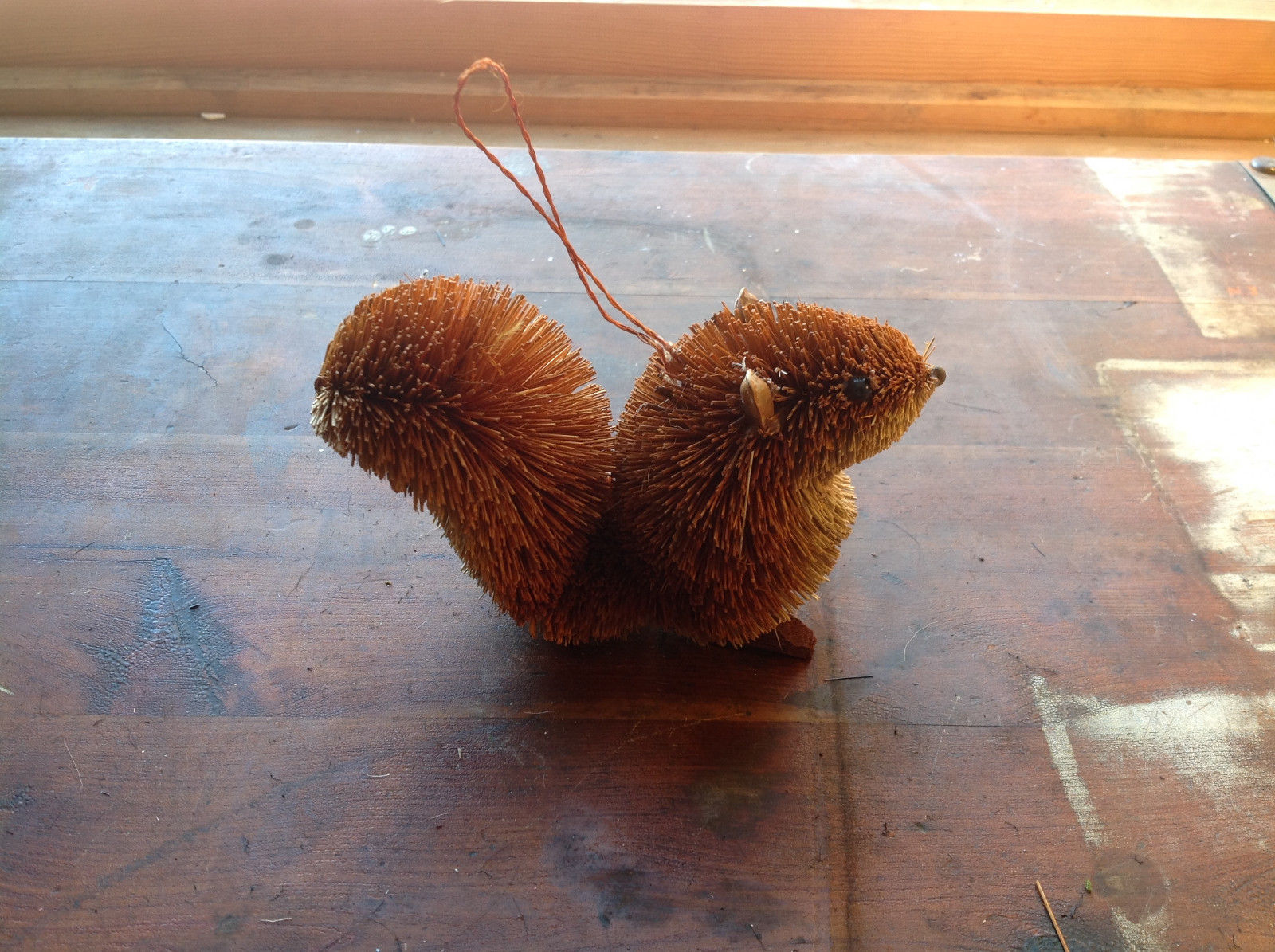 Palm Fiber Brown Squirrel Brush Eco Fiber Sustainable Made in Philippines