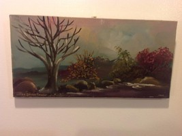 Painting Original Nature Tree Vivian Gaines Tanner Hudson Valley artist