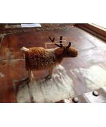 Palm Fiber Elk Brush Animal Eco Fiber Sustainable Ornament Made in Phili... - $39.99