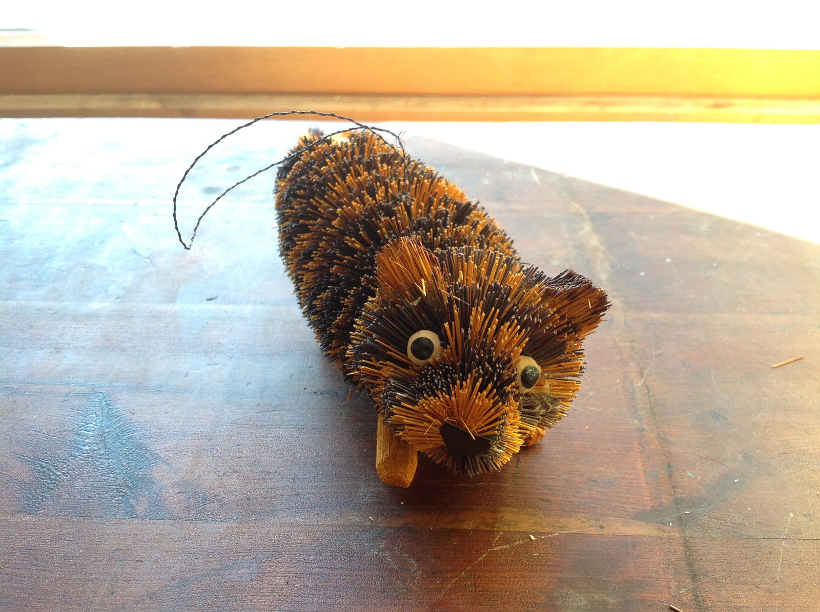 Palm Fiber Tiger Brush Eco Fiber Sustainable Made in Philippines