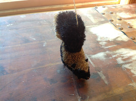 Palm Fiber Small Skunk Brush Ornament  Eco Fiber Sustainable Made in Philippines