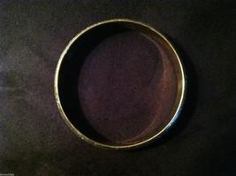 Lightweight Sparkly Brass Bracelet Under Shiny Enamel  image 3