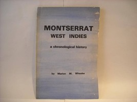 Paperback Book Mon Serrat West Indies Wheeler