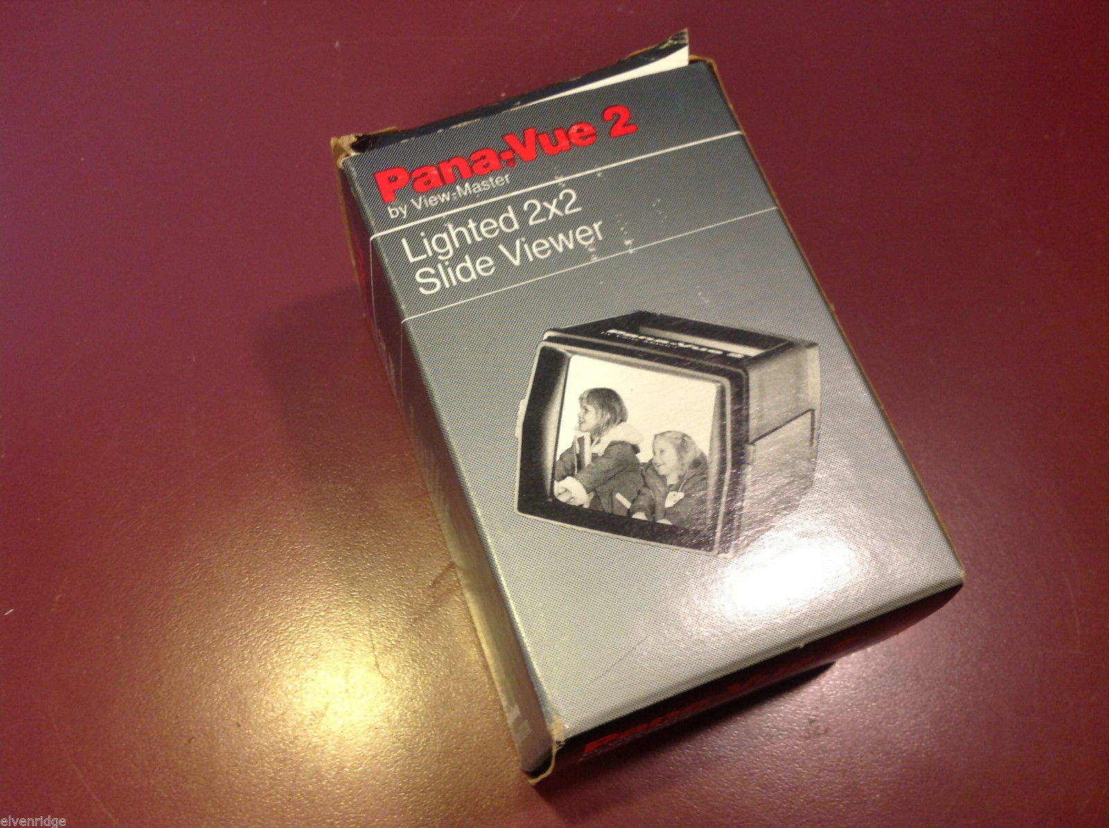 Pana Vue 2 in box with literature