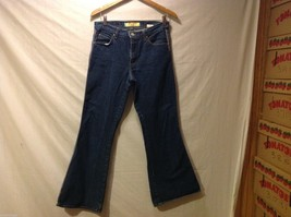 Paris Blues Womens Dark Cotton Jeans Pants, Size 11