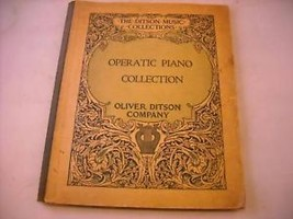 Paperback Operatic Piano Collection from 1890