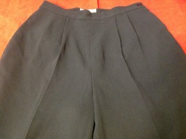 Pat Argenti black dress pants women's size 12