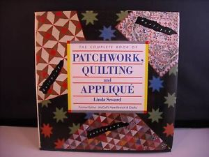 Patchwork Quilting Applique book by Linda Seward 1987