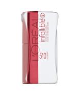 L'Oreal Paris Infallible Never Fail Lipcolour, Mulberry 510, 1 ea - $12.46