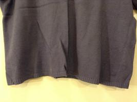 Limited America Short Sleeve Blue Violet V Neck Top Size Medium image 5
