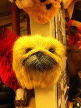 Pekinese dog   furry refrigerator magnet in 3D