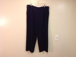 Linda Allard Ellen Tracy size 16 Black Pants image 2