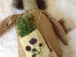 Live Simply Doll with Sack Primitives by Kathy Polyester Fiber image 4