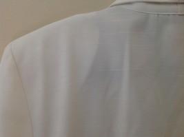 Liz Baker Womens white single button up blazer Size 10 image 6