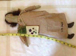 Live Simply Doll with Sack Primitives by Kathy Polyester Fiber image 6