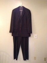 Perry Ellis Jacket and Pant Suit Jacket Size 44R  Jacket Pants 36 by 34