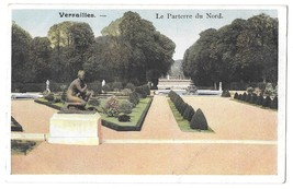 France Versailles Palace Parterre du Nord Paths Northern Garden Vtg Post... - $4.99