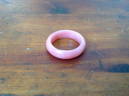 Pink Natural  Stone Ring Size 7.75 Size 8 and Size 9.25