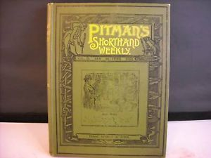 Pitman's Shorthand Weekly Vol 2 Jan Jun 1893
