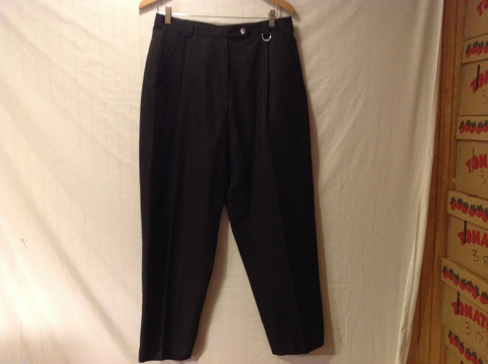 Play Womans Black Pants, Size 16