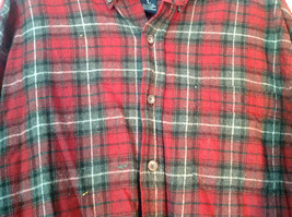 Northern Expedition Limited Size Large Plaid Long Sleeve Button Up Flannel Shirt image 2