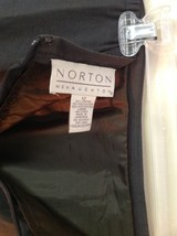 Norton McNaughton Green Size 12 Lined Skirt Rayon Polyester Blend image 3