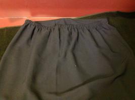 Norton Petite Blue Three Quarter Length Skirt Stretch Waist Size Petite Medium image 6