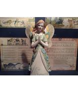 Praying Angel Tall Mira Flora Handcrafted Resin Angel Figurine - $34.64