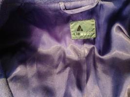 Liz wear Women's purple blazer size 4 made in Philippines image 5