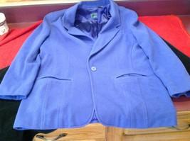 Liz wear Women's purple blazer size 4 made in Philippines image 2