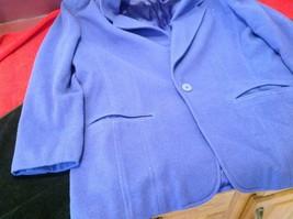 Liz wear Women's purple blazer size 4 made in Philippines image 3
