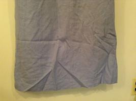 Long Blue Sleeveless Dress Amanda Smith Size 14 Fully Lined Embroidery on Front image 8
