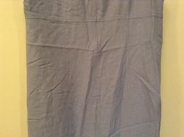 Long Blue Sleeveless Dress Amanda Smith Size 14 Fully Lined Embroidery on Front image 7